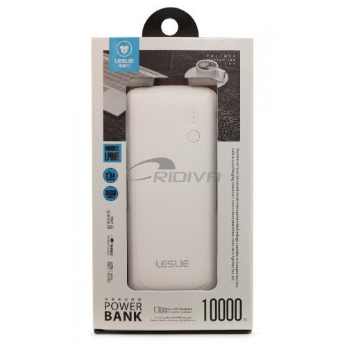 Išorinė baterija POWER BANK Leslie LP005 10000mAh