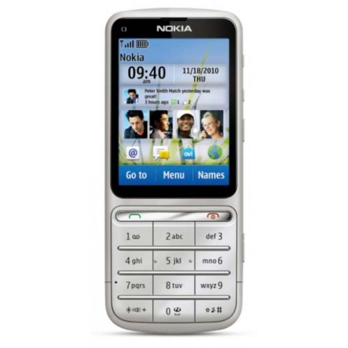 NOKIA C3-01 Touch and Type (Naudotas)