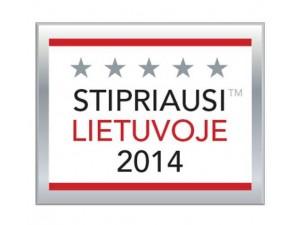 Stipriausi Lietuvoje 2014