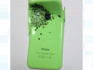 iPhone 5c išgelbėjo šeimininko gyvybę