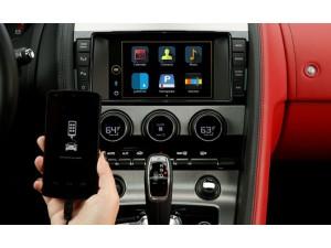 Jaguar automobilius galima valdyti išmaniuoju telefonu