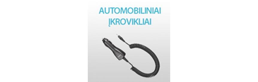 Automobiliniai įkrovikliai mobiliems telefonams